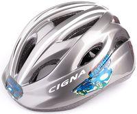"""Шлем велосипедный детский """"WT-021"""" (чёрно-серый)"""