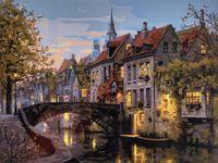 """Картина по номерам """"Красота старой Европы"""" (400х500 мм)"""