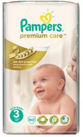 "Подгузники ""Pampers Premium Care Midi"" (5-9 кг, 60 шт)"