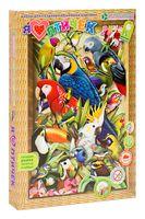 "Картина-аппликация ""Я люблю птичек"""