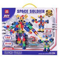 """Конструктор """"Space Soldier"""" (142 детали)"""