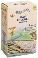 """Детская каша Fleur Alpine Organic """"Молочная рисовая"""" (200 г)"""