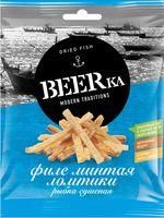 """Минтай сушеный ломтиками """"BEERka"""" (25 г)"""