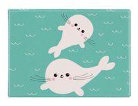 """Обложка на студенческий билет """"Белые тюлени"""""""