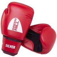 """Перчатки боксёрские """"Silver"""" BGS-2039 (12 унций; красные)"""