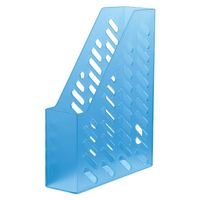 """Лоток для бумаги вертикальный """"HAN"""" (прозрачно-синий)"""