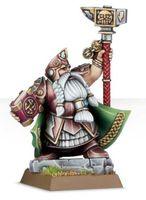 "Миниатюра ""Warhammer FB. Dwarf Runelord"" (84-18)"