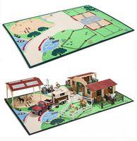 """Игровой коврик-ландшафт """"Жизнь на ферме"""""""