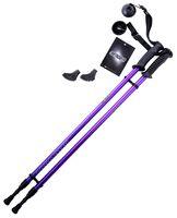 Палки для скандинавской ходьбы 2-секционные Longway (77-130 см; фиолетовые)