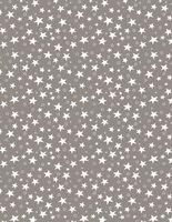 """Простыня хлопковая на резинке """"Stars Grey"""" (180х200 см)"""
