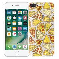 """Чехол для iPhone 7/8 Plus """"Pizza"""" (прозрачный)"""