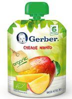 """Пюре детское """"Gerber. Спелое манго"""" (90 г)"""