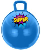 """Мяч-попрыгун """"GB-0401 SUPER"""" 45 см (с ручкой; голубой)"""