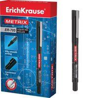 """Ручка-роллер черная """"METRIX ER-705"""" (0,6 мм)"""