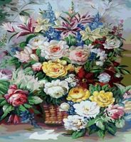 "Картина по номерам ""Безудержное многоцветие"" (400x500 мм; арт. MG315)"