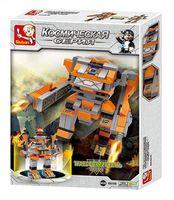 """Конструктор """"Робот трансформер. Оранжевый рыцарь"""" (134 детали)"""