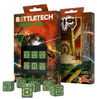 """Набор кубиков D6 """"Battletech. House Liao"""" (6 шт.; зеленый)"""