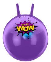 """Мяч-попрыгун """"GB-0402 WOW"""" 55 см (с рожками; фиолетовый)"""