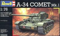 "Танк ""A34 Comet"" (масштаб: 1/76)"