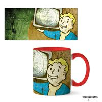 """Кружка """"Fallout"""" (арт. 596, красная)"""