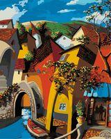 """Картина по номерам """"Мигель Фрейтас. Сказочная Венеция"""" (500х400 мм)"""