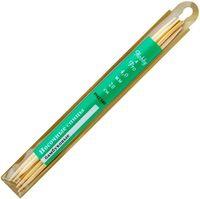 Спицы для вязания чулочные (бамбук; 4 мм; 5 шт)