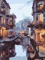 "Картина по номерам ""Романтика Венеции"" (400х500 мм)"