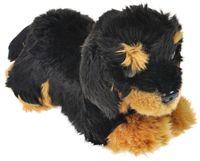 """Мягкая игрушка """"Ротвейлер щенок"""" (22 см)"""