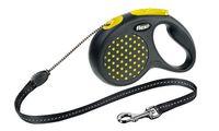 """Поводок-рулетка для собак """"Design"""" (желтый, размер S, до 12 кг/5 м)"""