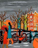 """Картина по номерам """"Амстердам"""" (500х400 мм)"""