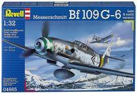 """Сборная модель """"Немецкий истребитель Messerschmitt Bf109 G-6"""" (масштаб: 1/32)"""