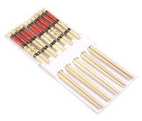 Набор палочек для еды деревянных (5 пар; 225 мм)