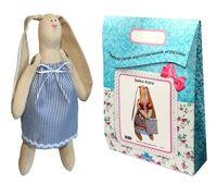 """Подарочный набор для шитья из ткани """"Кукла. Зайка Раиса"""""""