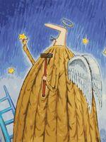 """Картина по номерам """"Заботливый ангел"""" (400х300 мм)"""