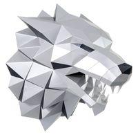 """3D-конструктор """"Лютоволк"""" (серый)"""