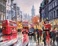 "Картина по номерам ""Лондон не спит"" (400х500 мм)"