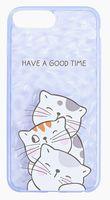 "Чехол для iPhone 8 plus ""Have a good time"" (голубой)"
