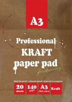 Папка для рисования и эскизов (А3; 20 листов)