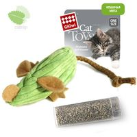 """Игрушка для кошек """"Мышка"""" с кошачьей мятой (13 см)"""