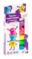 "Тесто для лепки ""Тесто-пластилин"" (6 цветов; арт. TA1090)"
