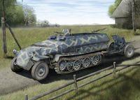 """Набор миниатюр """"Sd.Kfz.251/1 Ausf.C Rivetted Version & 3.7cm PaK 35/36"""" (масштаб: 1/72)"""