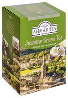 """Чай зеленый листовой """"Ahmad Tea. С жасмином"""" (100 г)"""