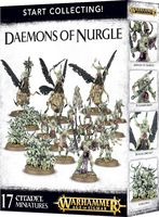 Warhammer Age of Sigmar. Daemons Of Nurgle. Start Collecting (70-98)