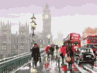 """Картина по номерам """"В дождливом Лондоне"""" (400х500 мм)"""