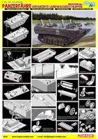 "Плавающий тягач ""Panzerfahre Gepanzerte Landwasserschlepper Prototype Nr.I"" (масштаб: 1/35)"