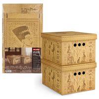 """Набор коробок складных """"Egypt"""" (2 шт.; 250х330х185 мм)"""