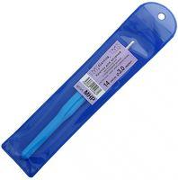 Крючок для вязания с пластиковой ручкой (металл; 3.0 мм)