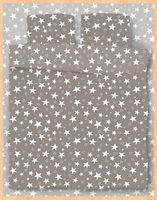 """Постельное белье """"Stars Grey"""" (двуспальное)"""