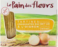 """Хлебцы кукурузные """"Le Pain des Fleurs. С луком"""" (150 г)"""