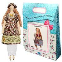 """Подарочный набор для шитья из ткани """"Кукла. Наталья"""""""